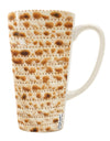 Matzo 16 Ounce Conical Latte Coffee Mug All Over Print