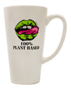 TooLoud Plant Based 16 Ounce Conical Latte Coffee Mug