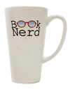 Book Nerd 16 Ounce Conical Latte Coffee Mug