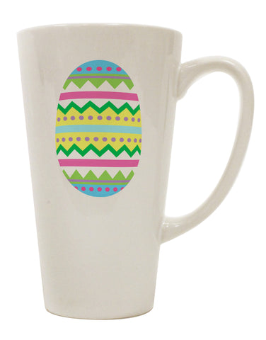 Colorful Easter Egg 16 Ounce Conical Latte Coffee Mug