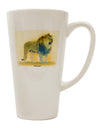 Lion Watercolor 1 16 Ounce Conical Latte Coffee Mug