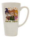 TooLoud Hocus Pocus Witches 16 Ounce Conical Latte Coffee Mug