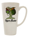 TooLoud Vegan Badass  16 Ounce Conical Latte Coffee Mug
