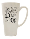 TooLoud He's My Boo 16 Ounce Conical Latte Coffee Mug