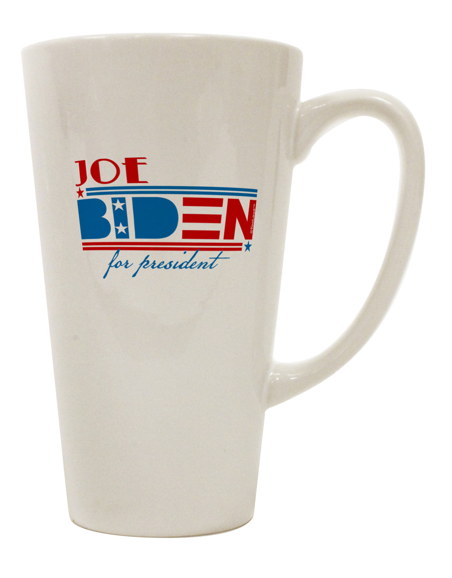 TooLoud Joe Biden for President 16 Ounce Conical Latte Coffee Mug