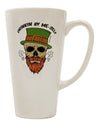 TooLoud Drinking By Me-Self 16 Ounce Conical Latte Coffee Mug