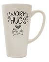 TooLoud Warm Hugs 16 Ounce Conical Latte Coffee Mug