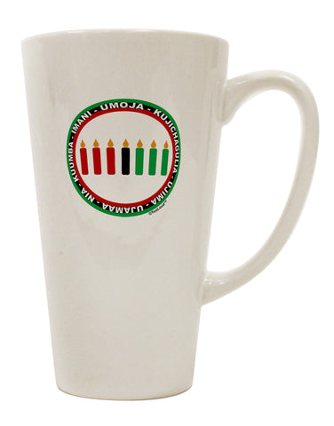 7 Principles Circle 16 Ounce Conical Latte Coffee Mug