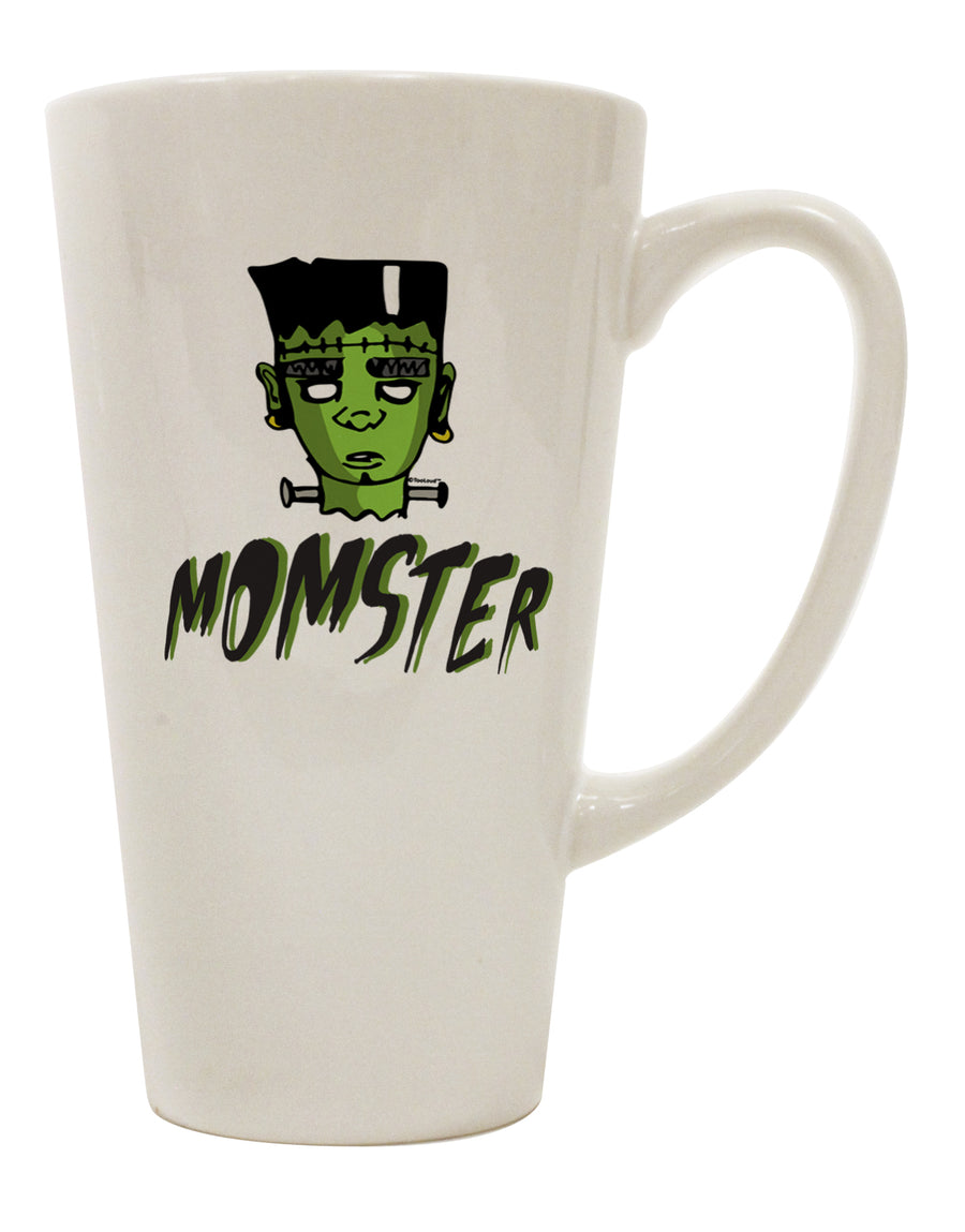 TooLoud Momster Frankenstein 16 Ounce Conical Latte Coffee Mug