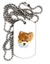 Custom Pet Art Adult Dog Tag Chain Necklace by TooLoud