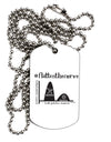 Flatten the Curve Graph Adult Dog Tag Chain Necklace - 1 Piece Tooloud