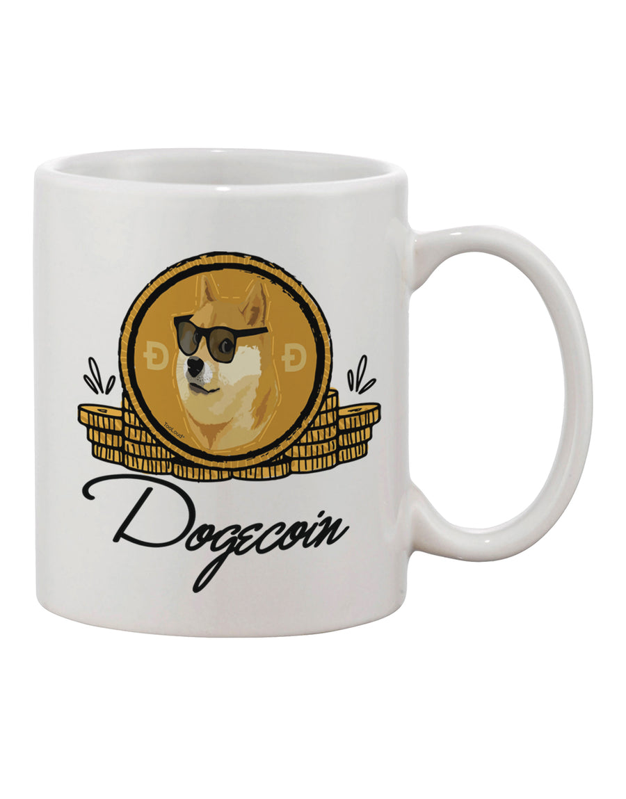 TooLoud Doge Coins Printed 11oz Coffee Mug