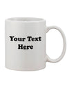 Custom Personalized Image and Text 11oz Coffee Mug