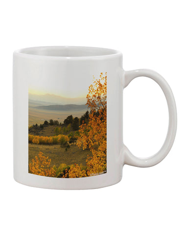 Nature Photography - Gentle Sunrise Printed 11oz Coffee Mug by TooLoud