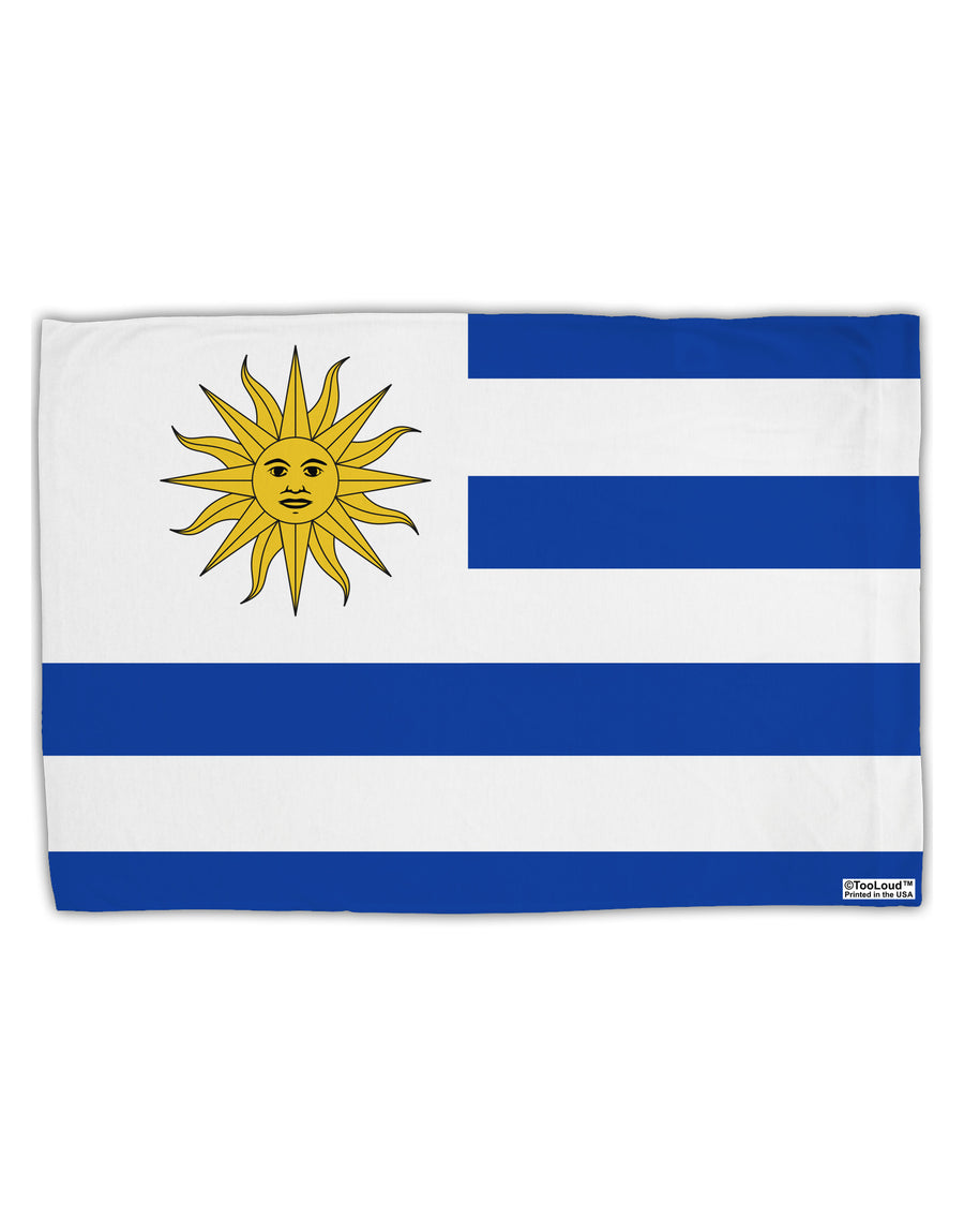 TooLoud Uruguay Flag AOP Standard Size Polyester Pillow Case All Over