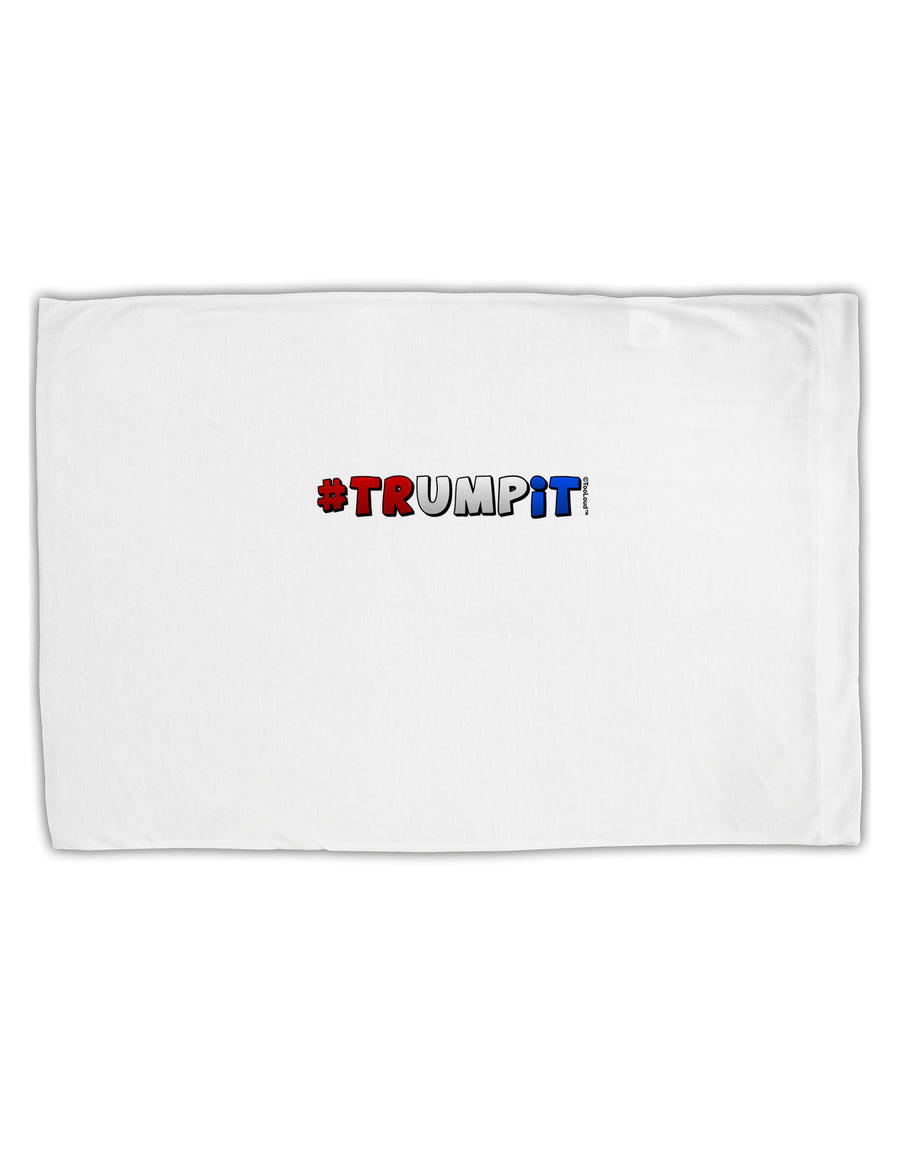 Hashtag Trumpit Standard Size Polyester Pillow Case