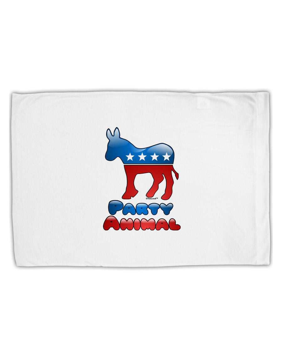 Democrat Party Animal Standard Size Polyester Pillow Case