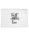 TooLoud Faith Conquers Fear Standard Size Polyester Pillow Case