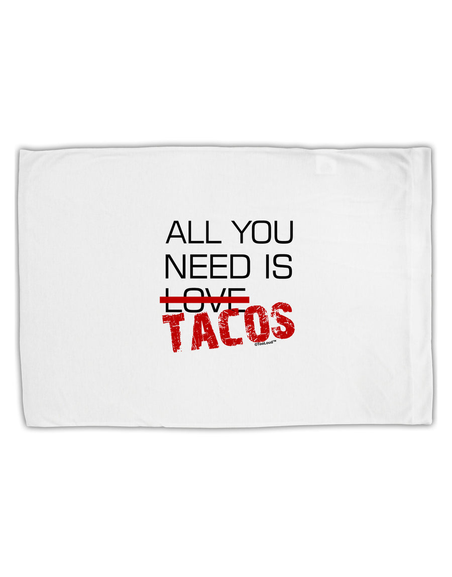 All You Need Is Tacos Standard Size Polyester Pillow Case