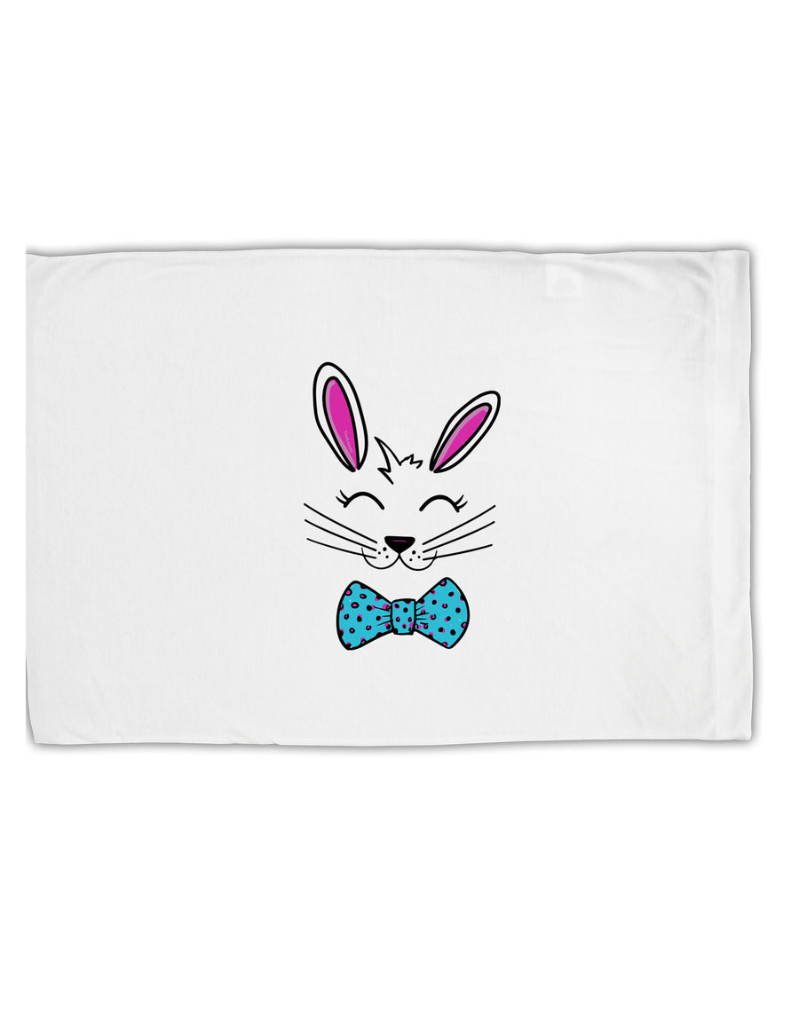 TooLoud Happy Easter Bunny Face Standard Size Polyester Pillow Case
