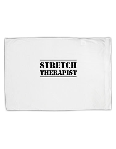 Stretch Therapist Text Standard Size Polyester Pillow Case by TooLoud