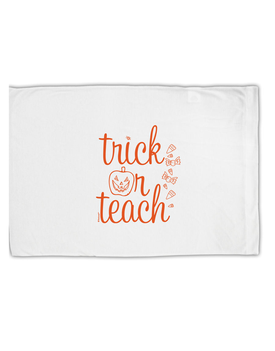 TooLoud Trick or Teach Standard Size Polyester Pillow Case