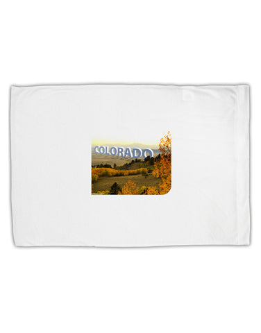 Colorado Postcard Gentle Sunrise Standard Size Polyester Pillow Case by TooLoud