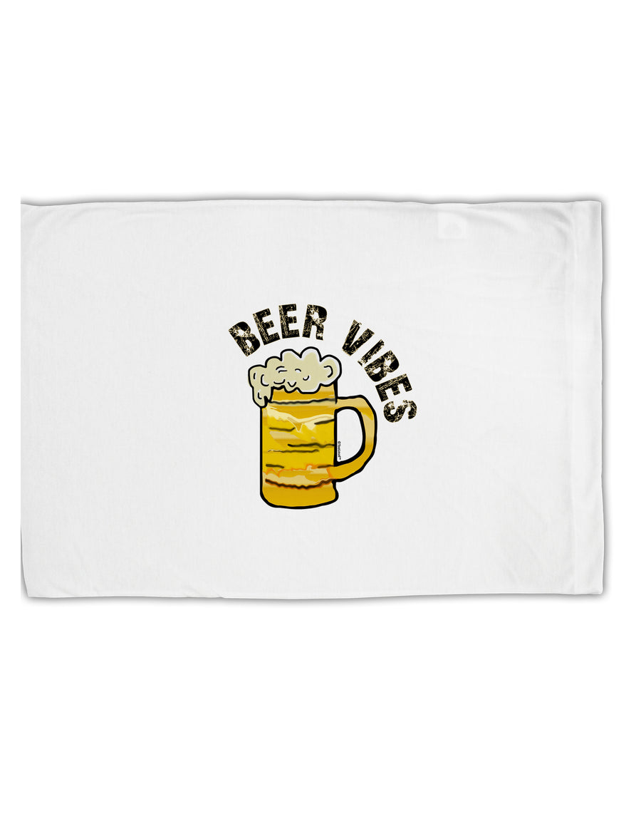 TooLoud Beer Vibes Standard Size Polyester Pillow Case