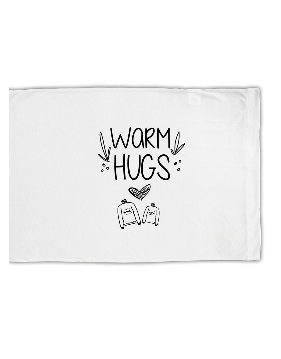 TooLoud Warm Hugs Standard Size Polyester Pillow Case
