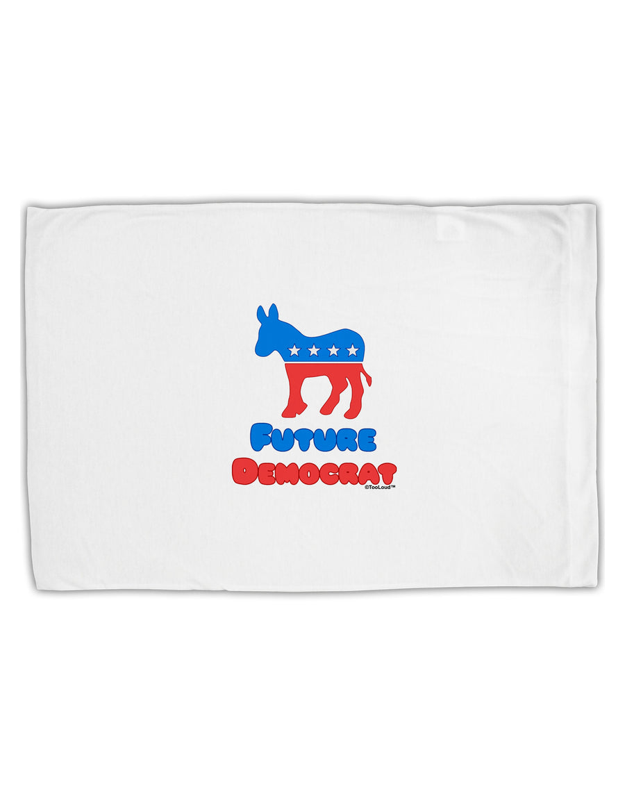 Future Democrat Standard Size Polyester Pillow Case