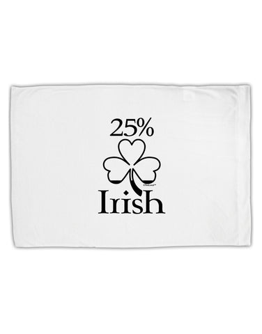 25 Percent Irish - St Patricks Day Standard Size Polyester Pillow Case by TooLoud