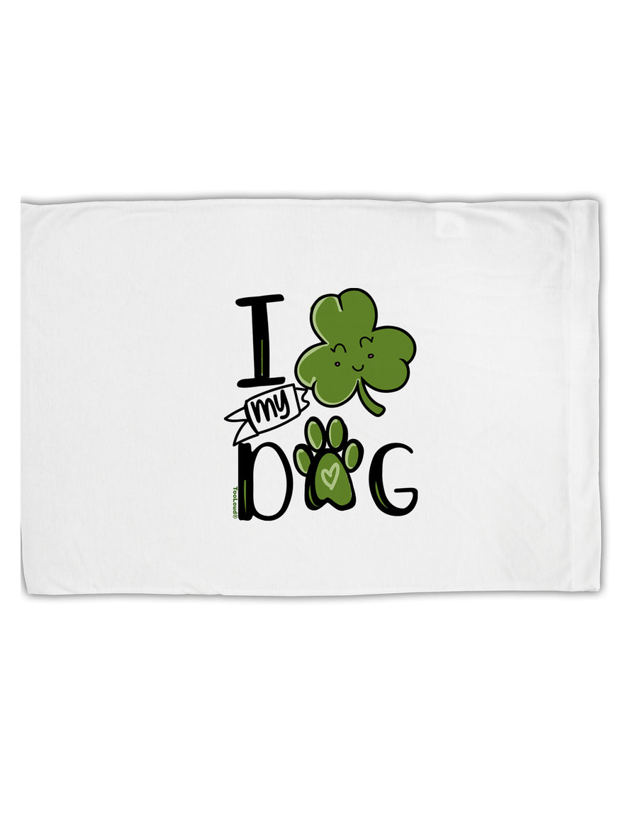 TooLoud I Shamrock my Dog Standard Size Polyester Pillow Case