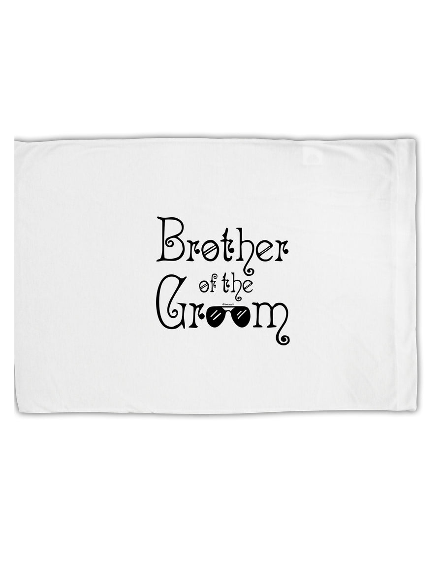 TooLoud Brother of the Groom Standard Size Polyester Pillow Case