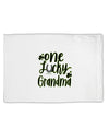 TooLoud One Lucky Grandma Shamrock Standard Size Polyester Pillow Case