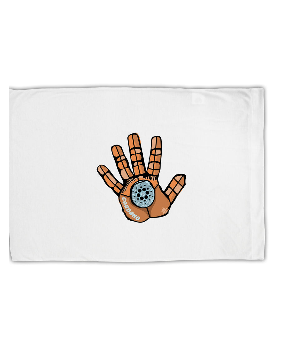 TooLoud Cardano Hero Hand Standard Size Polyester Pillow Case