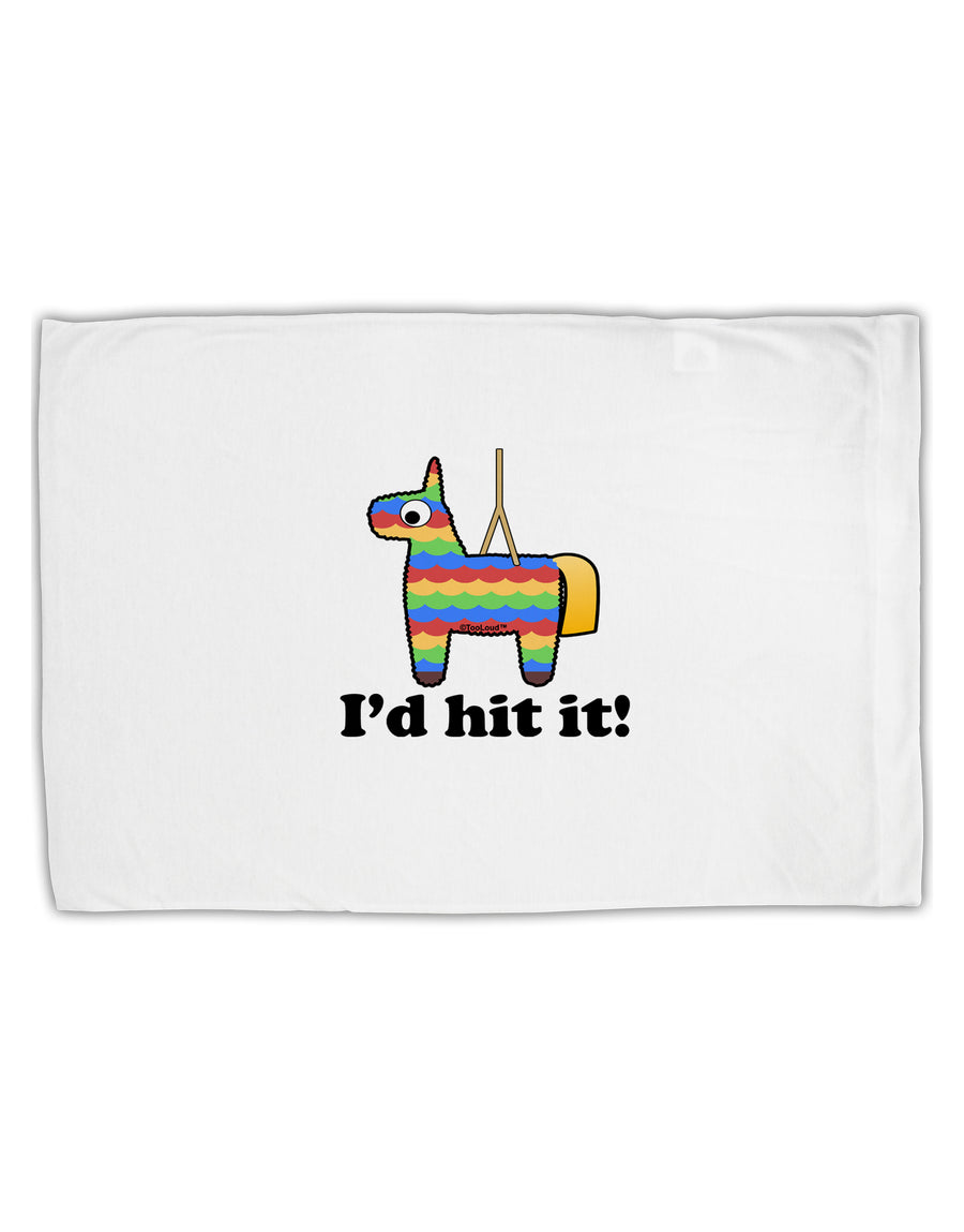 I'd Hit it - Funny Pińata Design Standard Size Polyester Pillow Case by TooLoud