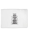 TooLoud Keep Calm and Wash Your Hands Standard Size Polyester Pillow C