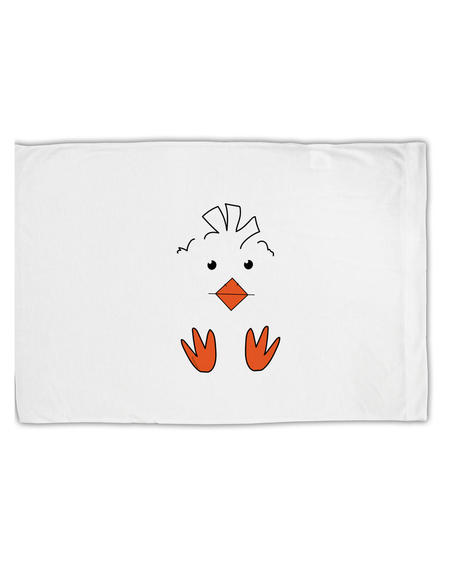 TooLoud Cute Easter Chick Face Standard Size Polyester Pillow Case