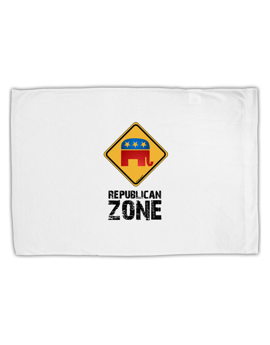 Republican Zone Standard Size Polyester Pillow Case