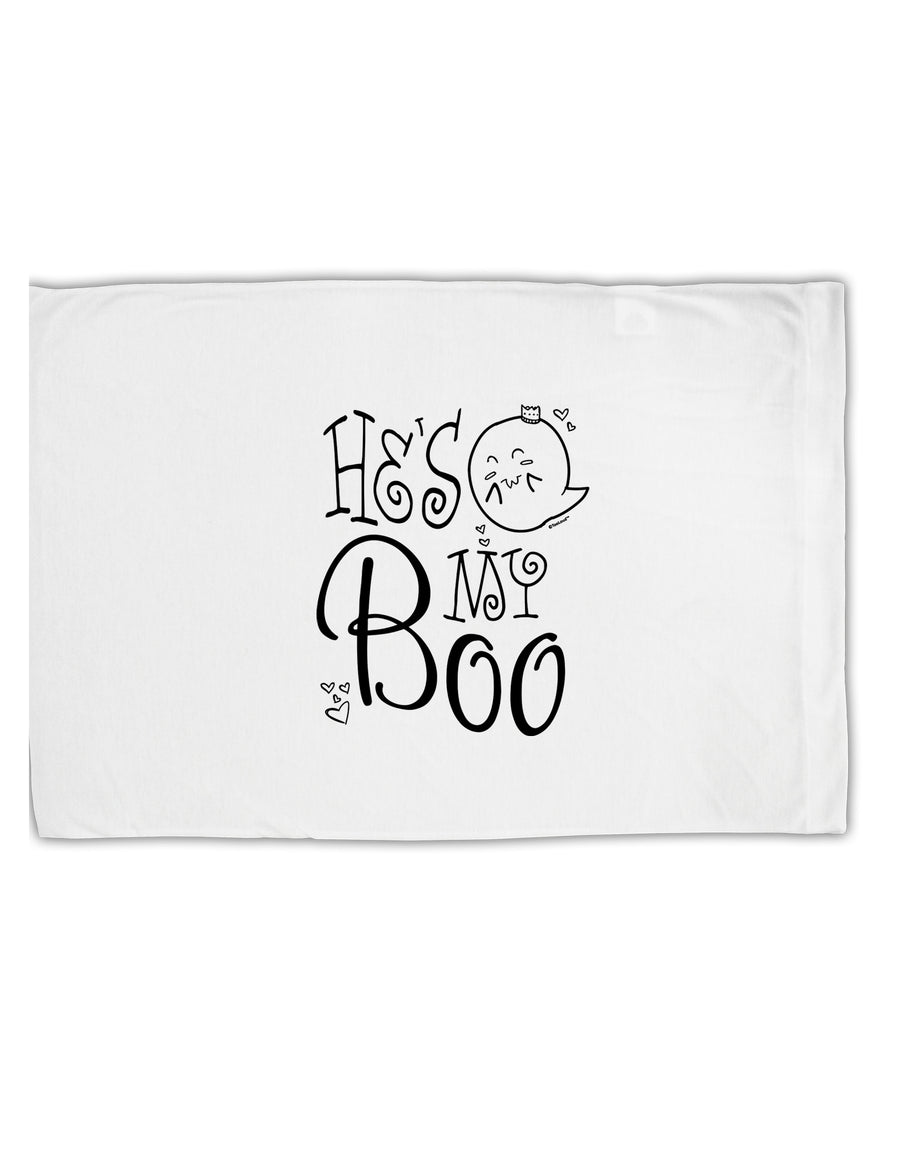 TooLoud He's My Boo Standard Size Polyester Pillow Case