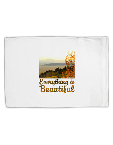Everything is Beautiful - Sunrise Standard Size Polyester Pillow Case by TooLoud