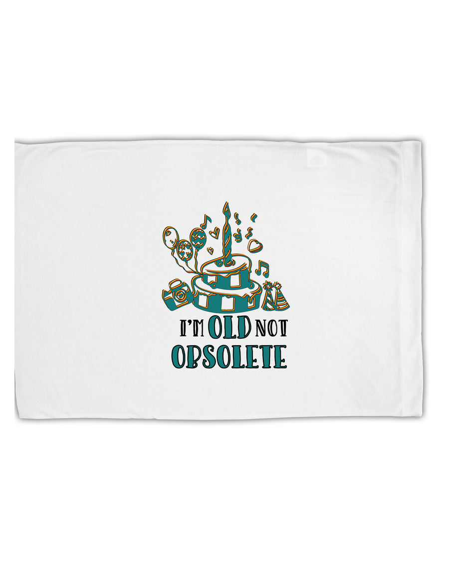 TooLoud Im Old Not Obsolete Standard Size Polyester Pillow Case