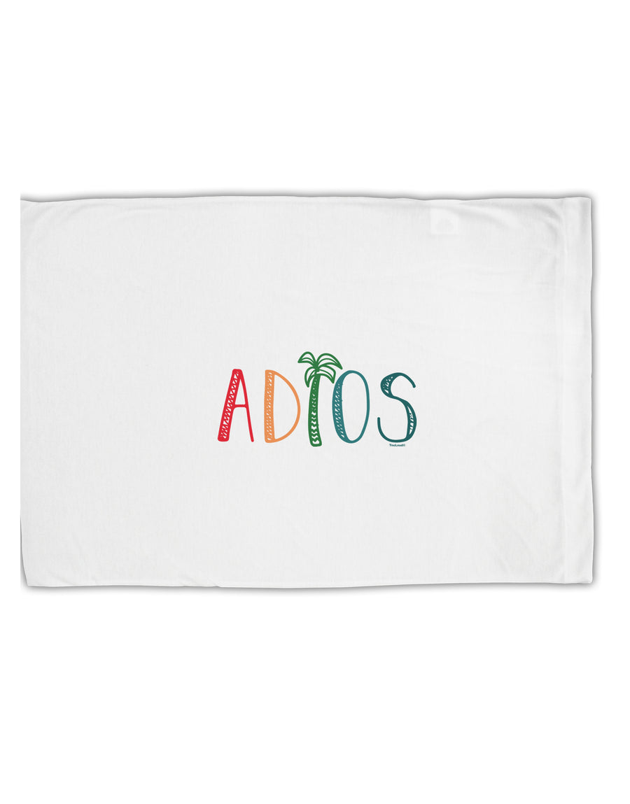 TooLoud Adios Standard Size Polyester Pillow Case