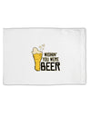 TooLoud Wishin you were Beer Standard Size Polyester Pillow Case