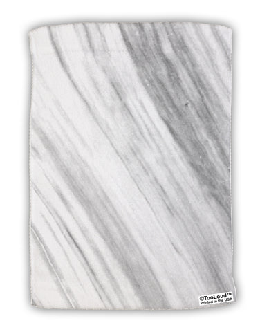 "White Marble Pattern Micro Terry Sport Towel 11""x8"" All Over Print by TooLoud"