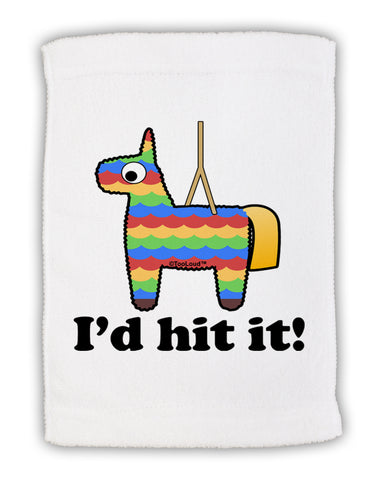 "I'd Hit it - Funny Pińata Design Micro Terry Sport Towel 11""x18 by TooLoud"