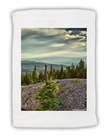 "Nature Photography - Pine Kingdom Micro Terry Sport Towel 11""x18 by TooLoud"