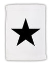 "TooLoud Black Star Micro Terry Sport Towel 11""x18"""
