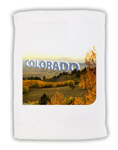 "Colorado Postcard Gentle Sunrise Micro Terry Sport Towel 11""x18 by TooLoud"