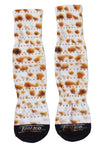 Matzo Adult Crew Socks Hanukkah Socks All Over Print